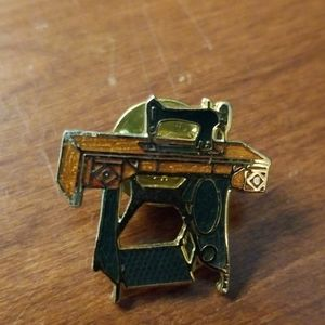 Vintage sewing machine table pin